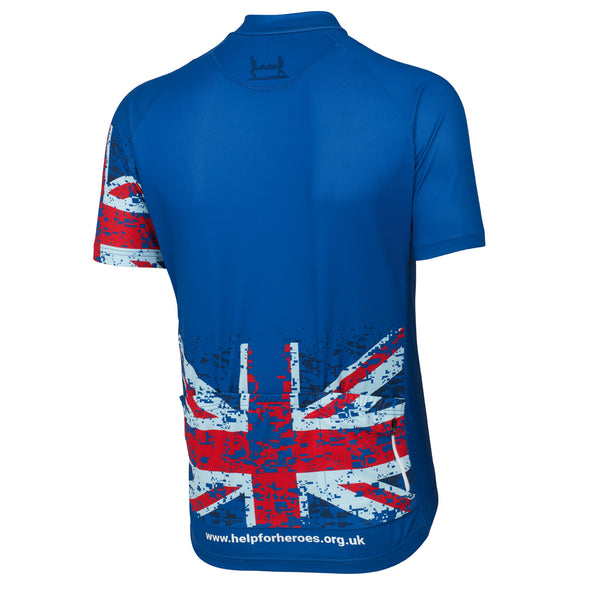 Help for Heroes Tri Colour Standard Cycle Jersey