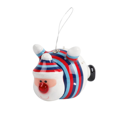 Help for Heroes Light-up Santa Christmas Bauble