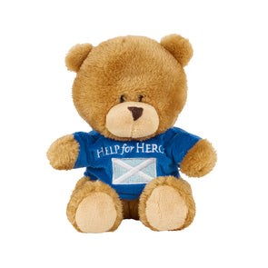 Help for Heroes Small Scottish Bear with T-shirt