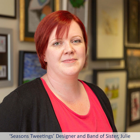 Seasons Tweetings Designer, Julie