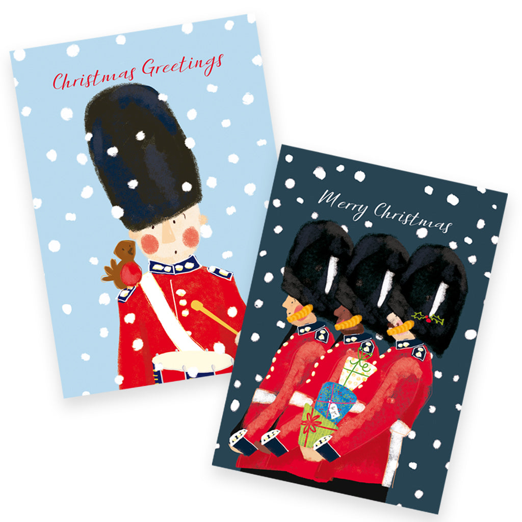 Help for Heroes Snowy Guards Christmas Cards