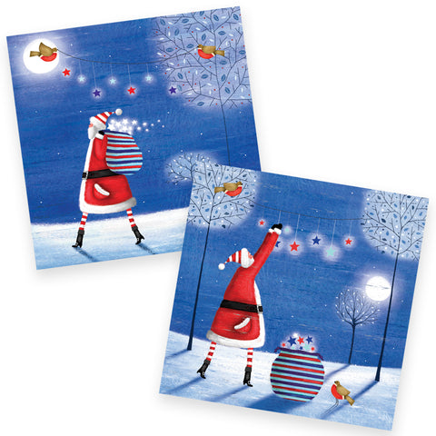 Help for Heroes Starry Washing Christmas Cards Set