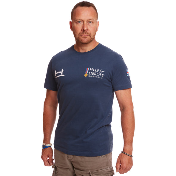 Help for Heroes Steel Blue Classic T-shirt