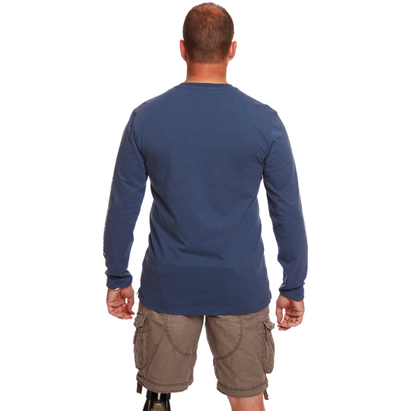 Help for Heroes Steel Blue Long Sleeve Gleadell T-shirt