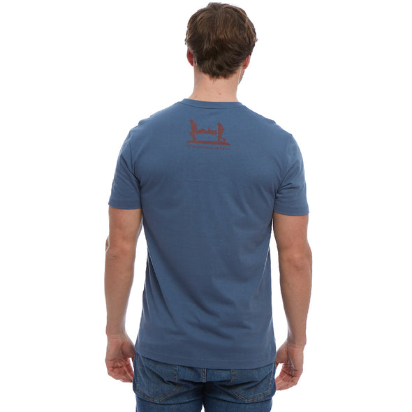 Help for Heroes Steel Blue Vulcan T-shirt