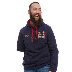 734309ee48a Help for Heroes Navy Stirling Pullover Hoody