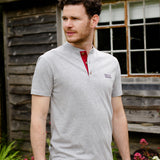 Grey Marl Help for Heroes Henley Wiltshire T-Shirt