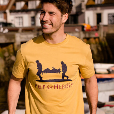 Help for Heroes Mustard Yellow Intrepid T-shirt