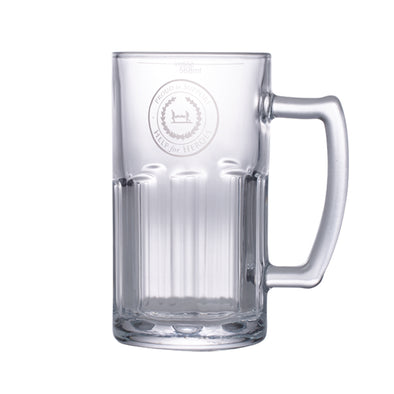 Help for Heroes Proud to Support Glass Tankard