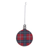 Tartan Bauble Tree Decoration