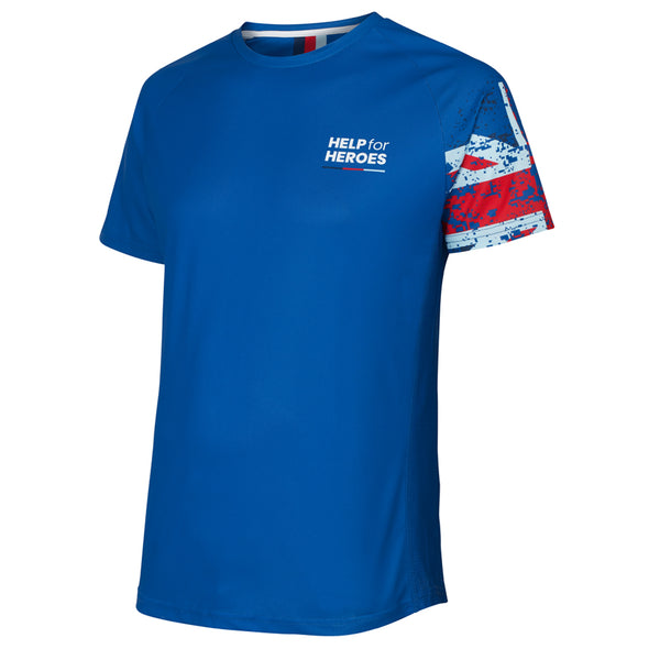Help for Heroes Tri Colour Technical T-Shirt