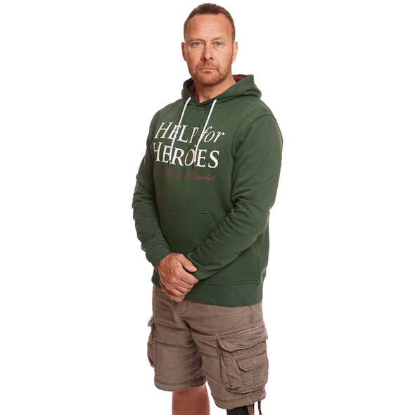 Thyme Green Ardley Pullover Hoody