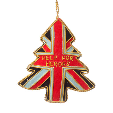 Union Jack Tree Decoration