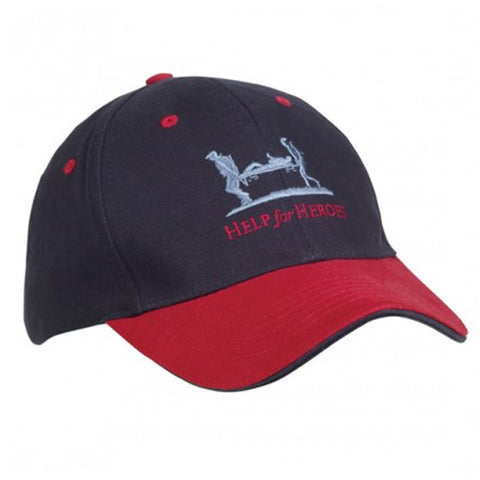 Help for Heroes Navy Intrepid Baseball Cap