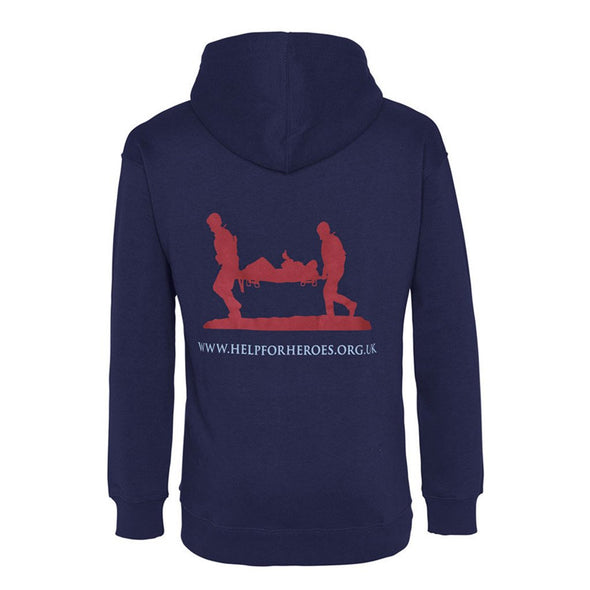 Help for Heroes Navy Pullover Hoody