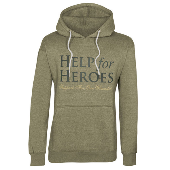 Olive Green Help for Heroes Valour Hoody