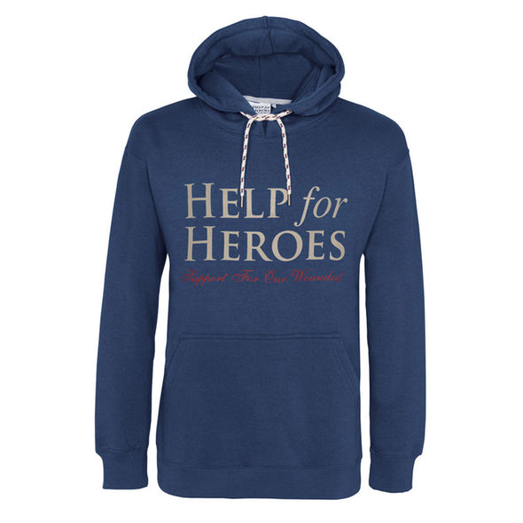 Help for Heroes Valour Hoody Petrol Blue