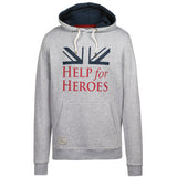 Help for Heroes Grey Marl Vigour Hoody