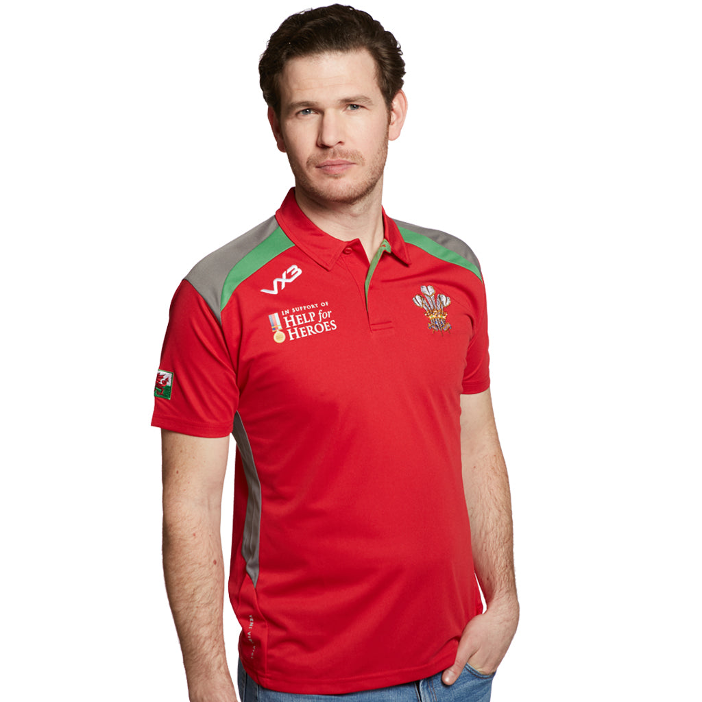 Help for Heroes Wales Rugby Polo