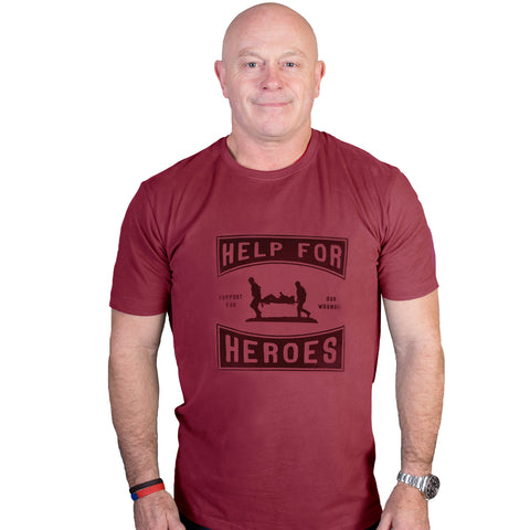 Help for Heroes Burnt Russet Wessex T-shirt