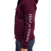 Help for Heroes Windsor Wine Catterick Raglan Zipped Hoody