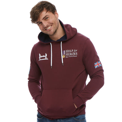 Help for Heroes Windsor Wine Heritage Pullover Hoody