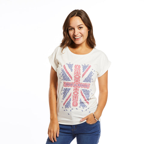 Union Jack Butterfly top