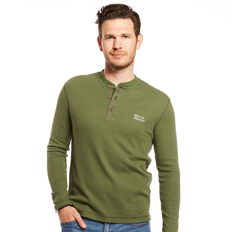 Clover Green Henley Lymington T-Shirt