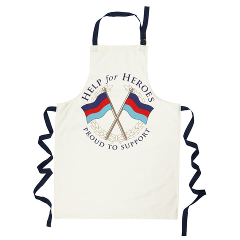 Help for Heroes Tri-colour Crossed Flags Apron