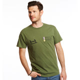 Classic Green Union Jack T-Shirt