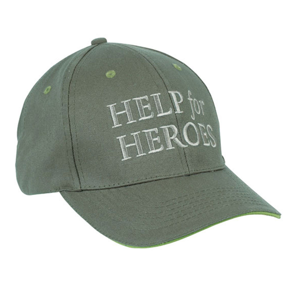 Help for Heroes Green Baseball Cap