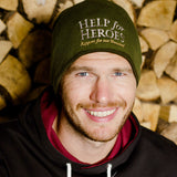 Help for Heroes Green Essential Beanie