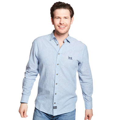 Help for Heroes Blue Linen Shirt