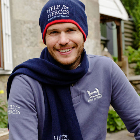 Help for Heroes Navy Essential Beanie