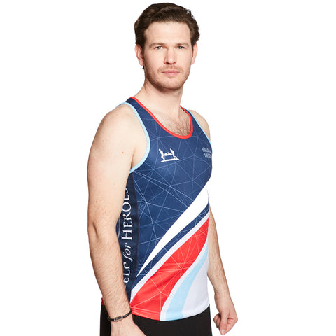Men's Swoosh Tri-Colour Running Vest