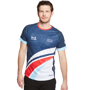 Help for Heroes Unisex Swoosh Tri-Colour Technical T-shirt