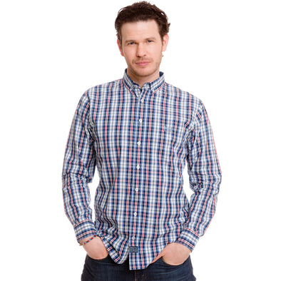 Tri-colour Clifton Shirt