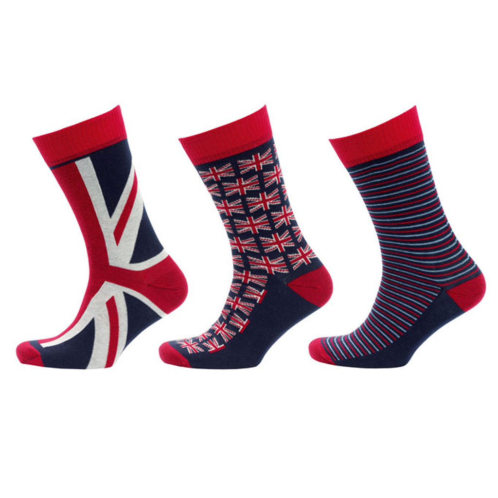 Help for Heroes Mixed Union Jack Socks