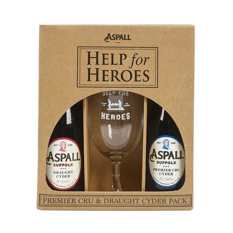 Help for Heroes Aspall Cider Gift Set
