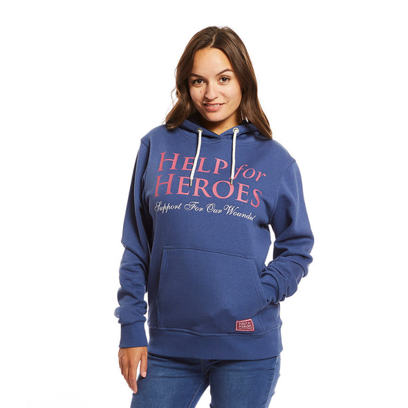 Nordic Blue Ladies Hoody