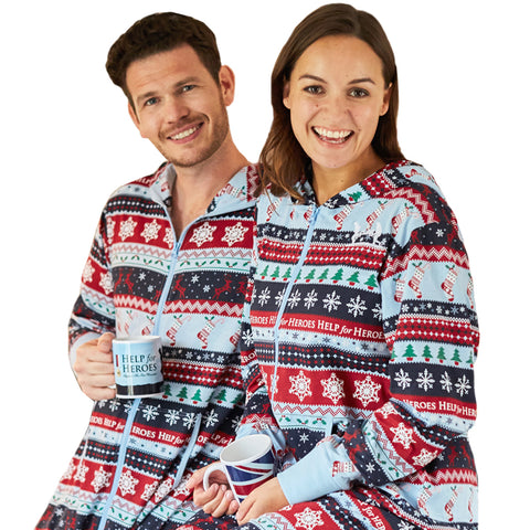 Help for Heroes Fairisle Onesie