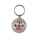 Help for Heroes Proud to Support Spinning Keyring
