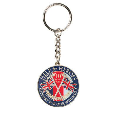 Help for Heroes 10th Anniversary Keyring