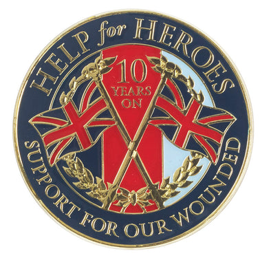 Help for Heroes 10th Anniversary Magnet