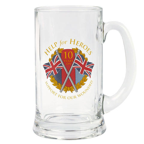 Help for Heroes Anniversary Tankard