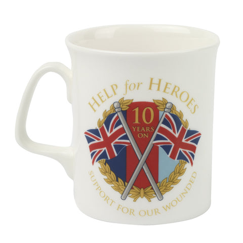 Help for Heroes 10th Anniversary Mug