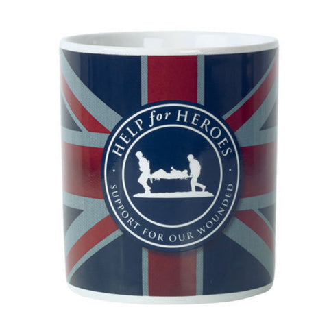 Help for Heroes Union Jack Dignity Mug