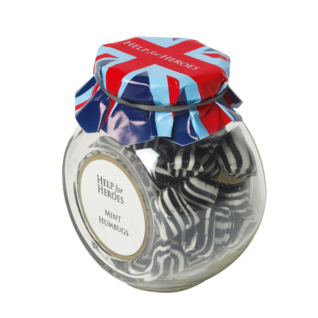Help for Heroes Mint Humbugs