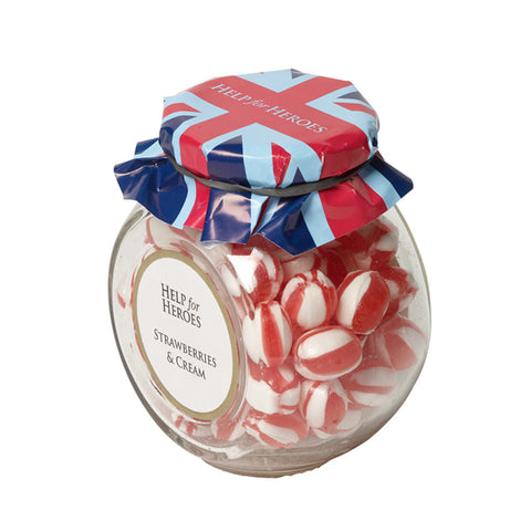 Help for Heroes Strawberry and Cream Sweets