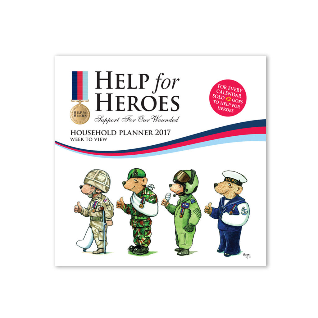 Help for Heroes Week to View Bear Calendar 2017